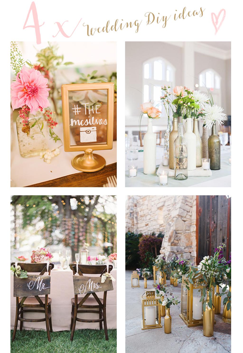 wedding diy ideas